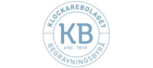 Klockarebolaget begravningsbyrå logo